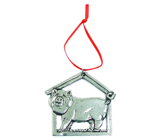 Image of Ornament, Pig Tinn-Per