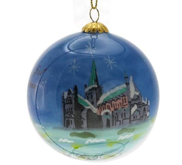 Image of Glass ball, Nidaros Cathedral, Trondheim