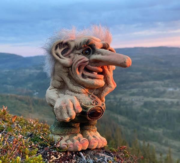 Image of Troll thinking, Limitid edition 2021 (Troll #
