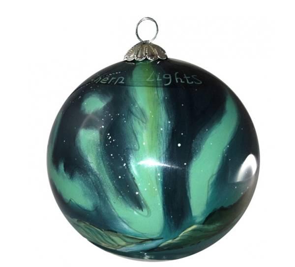 Image of Glass ball, Northern light