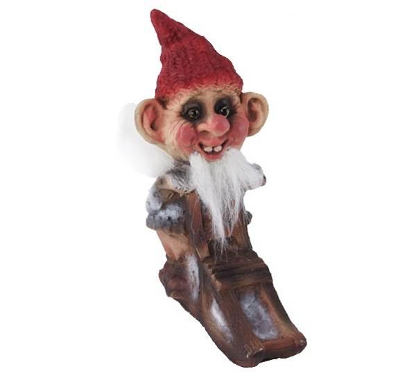 Image of Ny Form santa on kick sledge