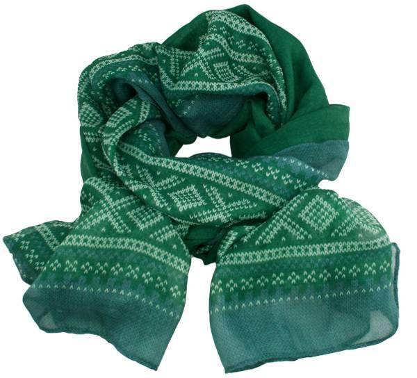 Image of Marius® scarf, light green/white/grey