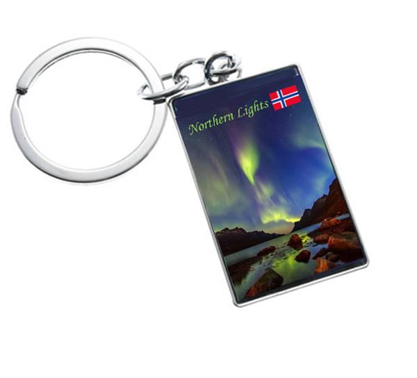 Image of Northern lights key chain