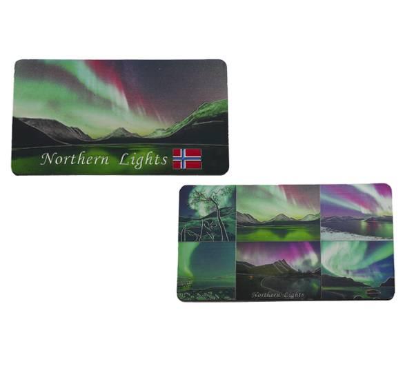 Image of Northern lights magnet 2-sided