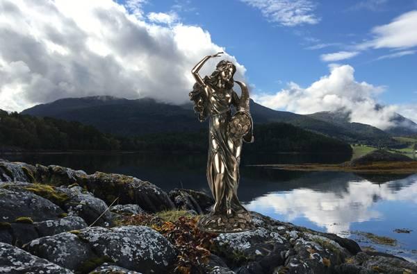 Image of Goddess, 'Fortuna'