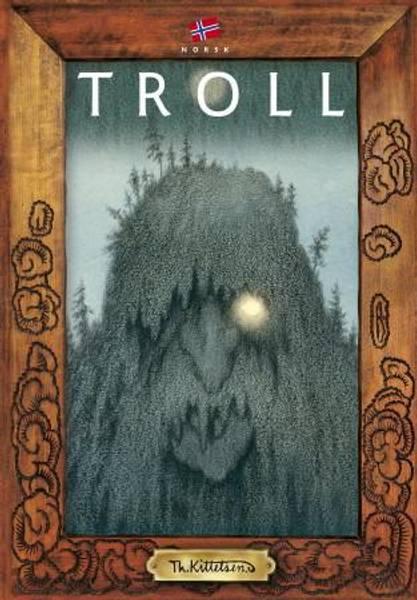 Image of Trolls by Kittelsen