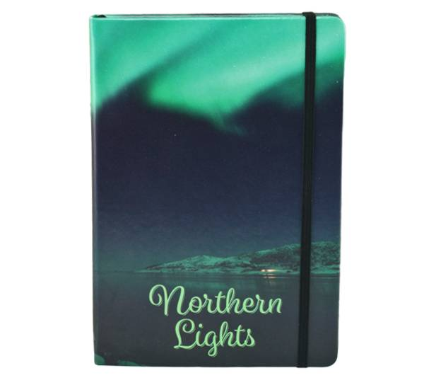Image of Northern lights notebook