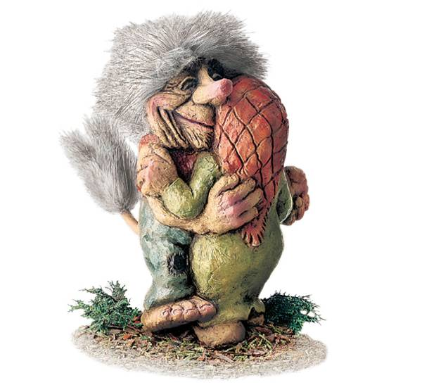 Image of Troll, dancing couple (Troll # 180)