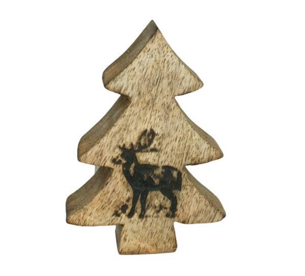 Bilde av Dekorasjonstre med reinsdyr, 'F-design'