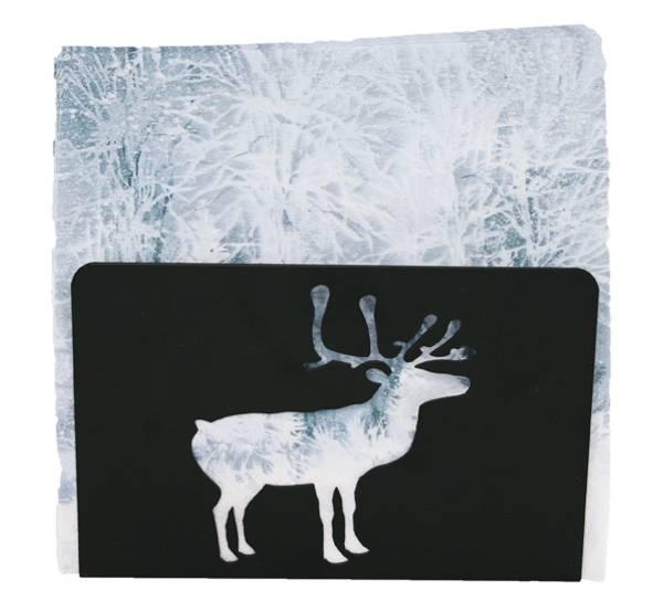 Bilde av Serviettholder med reinsdyr, sort