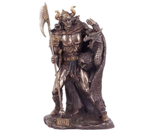 Bilde av Viking med kappe, 'Loki'