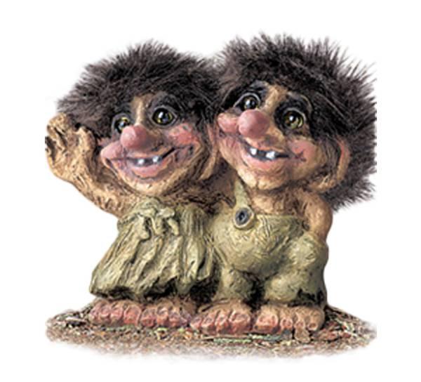 Bilde av Troll, tvillinger (Troll nr. 020)