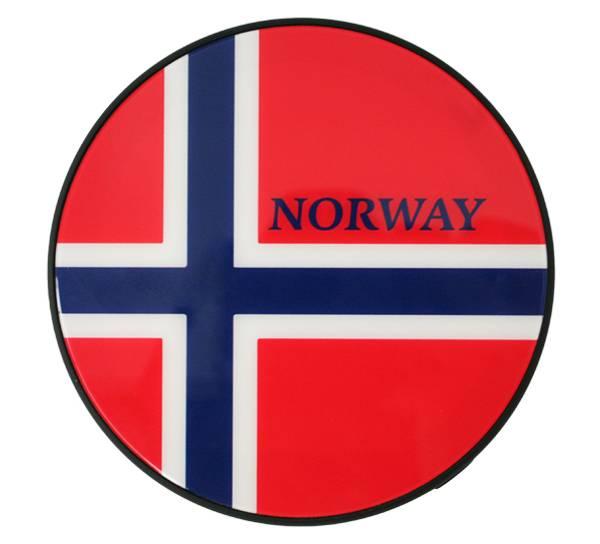 Bilde av Power bank, flagg, rund
