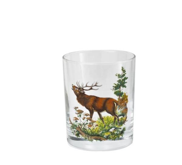 Bilde av Whiskyglass hjort