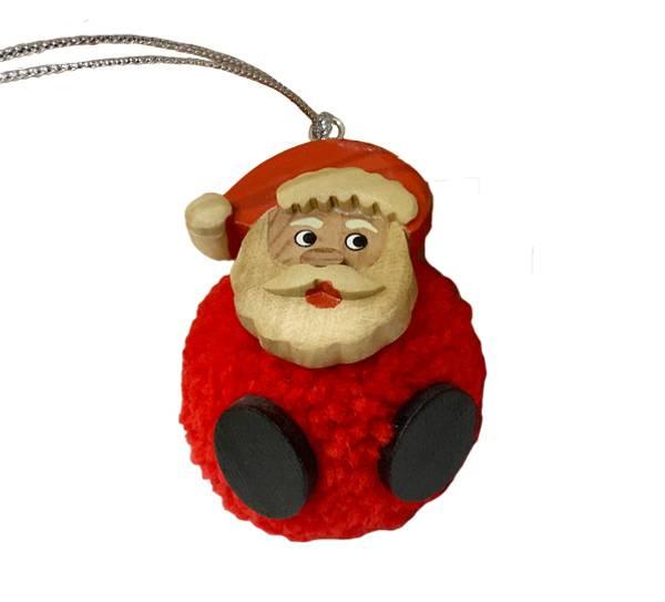 Bilde av Pompom julenisse, for oppheng