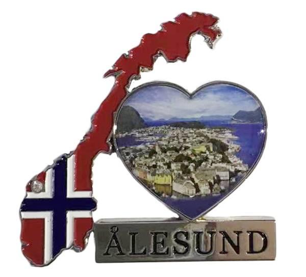 Bilde av Magnet, norgeskart Ålesund