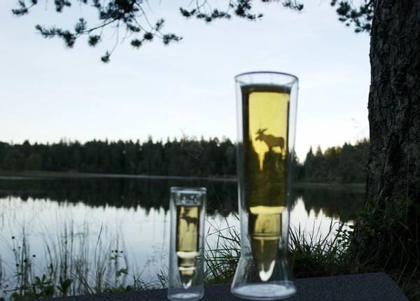 Bilde av Silver Moose Snaps Glass 2 pk.