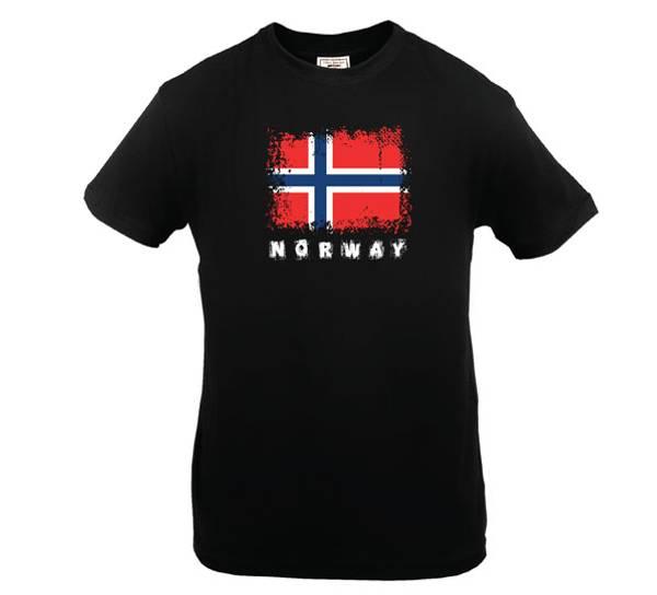 Bilde av T-skjorte. Norway, sort