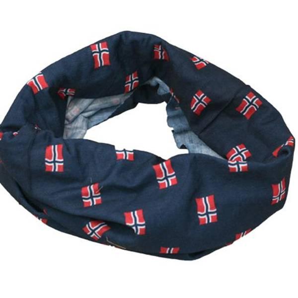 Bilde av Hals med flaggmønster