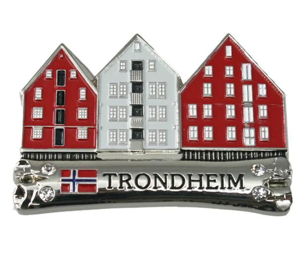 Bilde av Magnet i metall, BryggenTrondheim