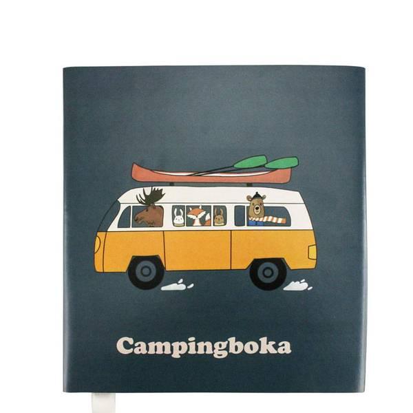 Image of Campingboka, mørk blå