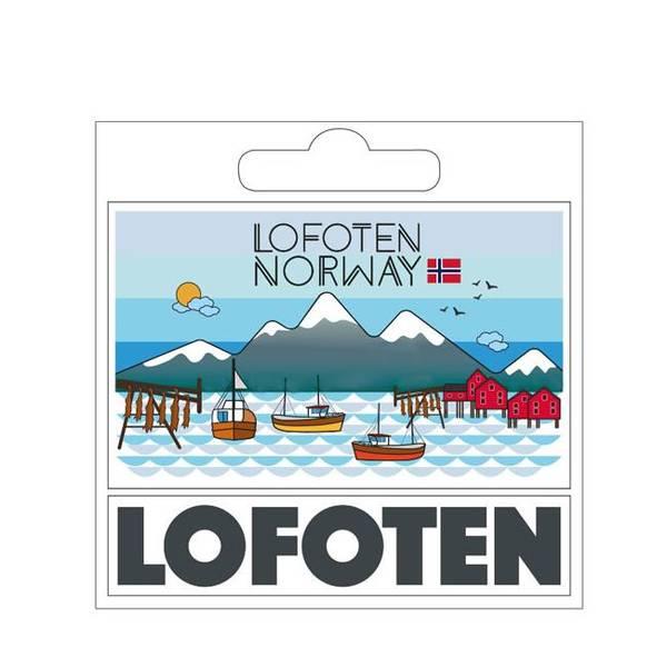 Bilde av Klistremerke, Lofoten