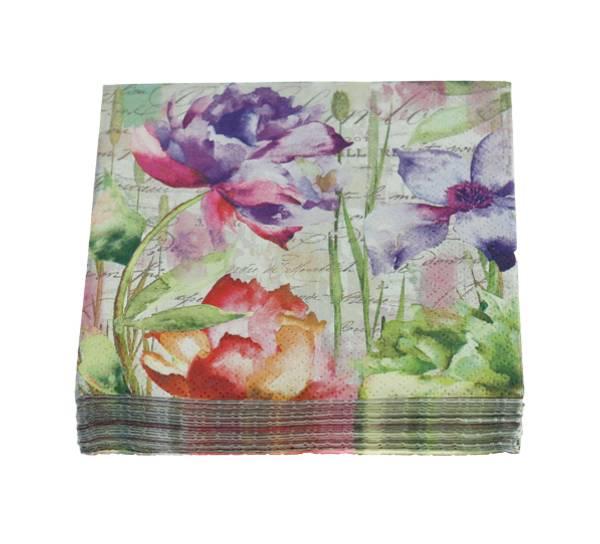 Bilde av Kaffeserviett, blomsterprakt
