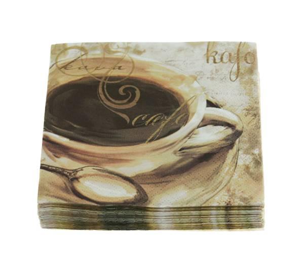 Bilde av Kaffeserviett, kaffekopp