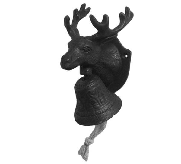 Bilde av Dørbjelle med hjortehode