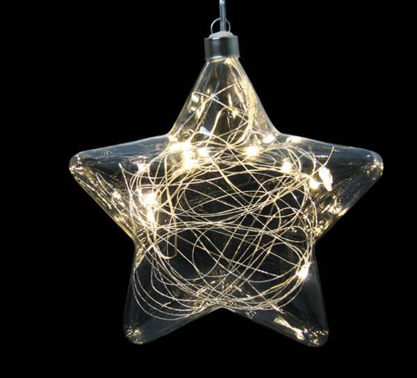 Bilde av Stjerne med LED lys, stor