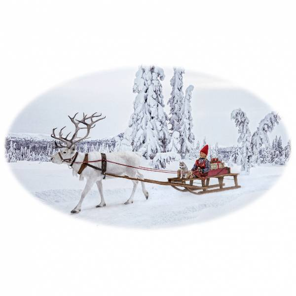 Bilde av Krus, Anja kjører kjelke - Juledrømmen nr. 6