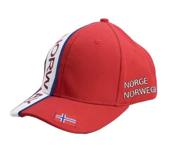 Bilde av Caps rød og hvit  Norway