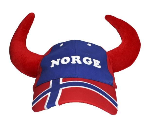 Bilde av Flagg caps med horn