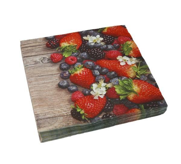 Bilde av Servietter, bær