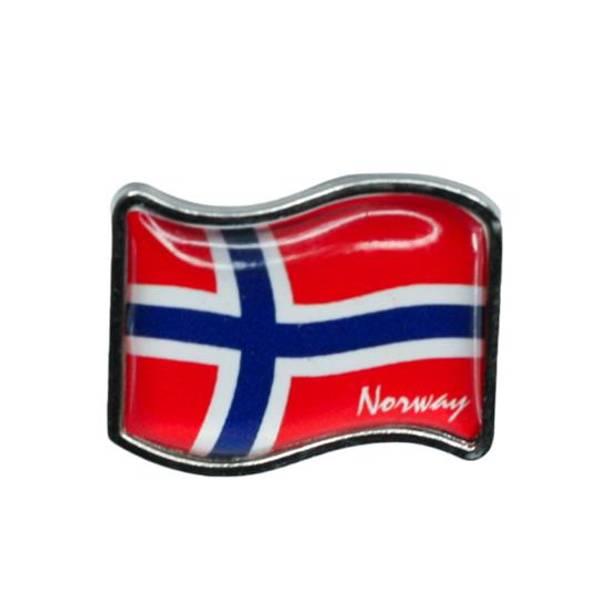 Bilde av Pin med norsk flagg