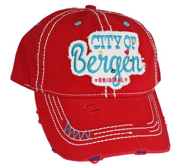 Bilde av Caps, 'City of Bergen', rød