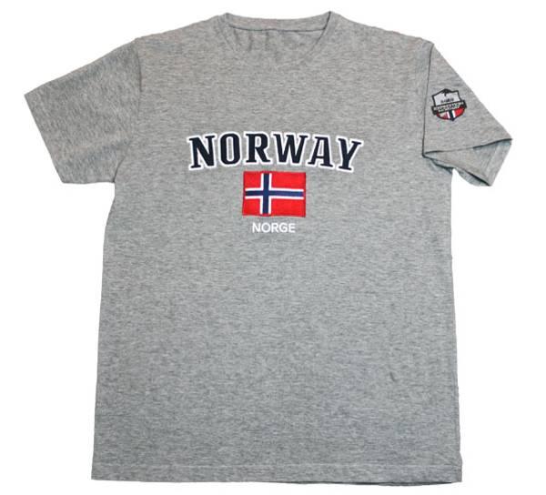 Bilde av T-skjorte, 'Norway', grå