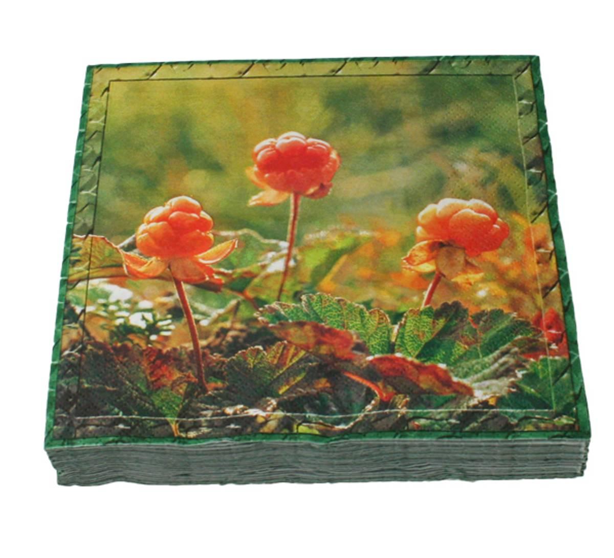 Flora Servietter Multe