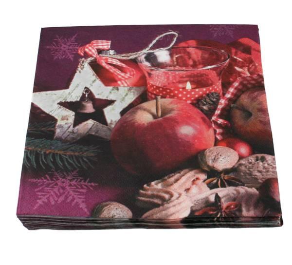 Bilde av Servietter Advent og Jul