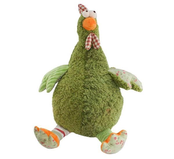 Bilde av Høne sittende grønn