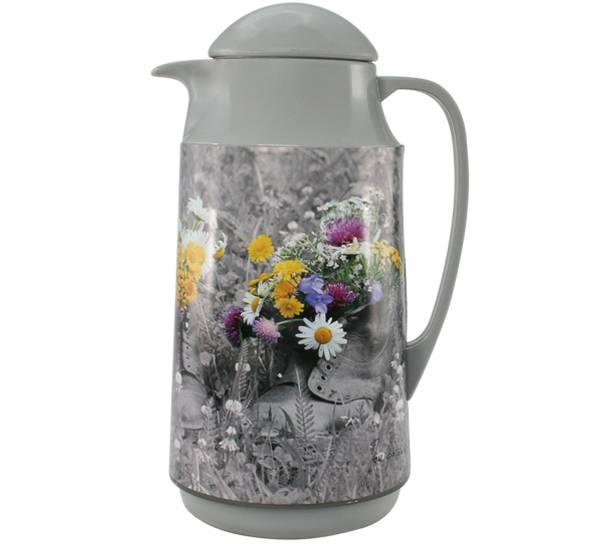Bilde av Kaffekanne, sko med blomster, Pryd