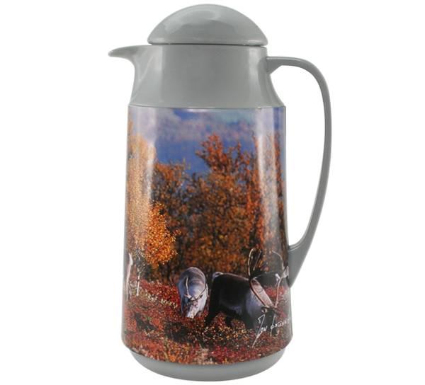 Bilde av Kaffekanne, villrein, går, Skal hilse fra fjellet