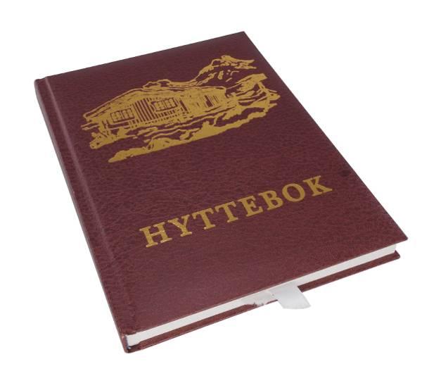 Bilde av Hyttebok med hyttemotiv