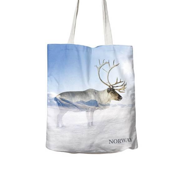 Bilde av Handlenett, reinsdyr i vinterland