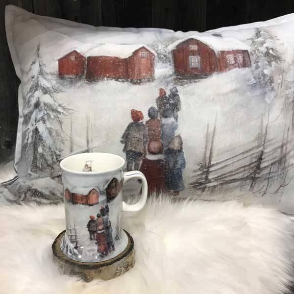Bilde av Vinterbarn Krus, gårdsbesøk.