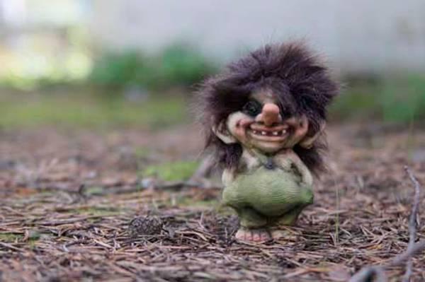Bilde av Troll, gutt, liten (Troll nr. 018)
