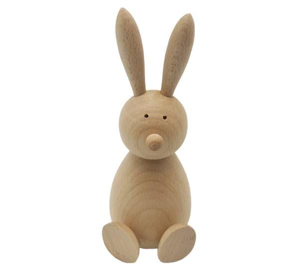 Bilde av Hare av tre, bøk