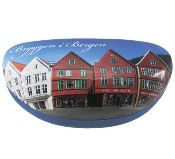 Bilde av Solbrilleetui Bryggen i Bergen