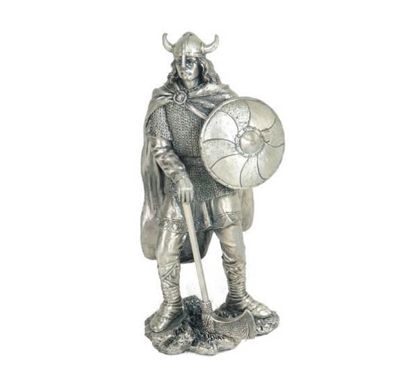 Bilde av Viking med skjold, tinn