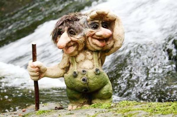 Bilde av Troll med 2 hoder  (Troll nr. 101)